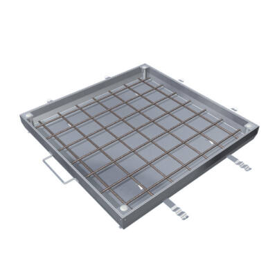 Aco TopTek UNIFACE alumínium beton kitöltésű burkolható aknafedlap 400x400x72.5mm