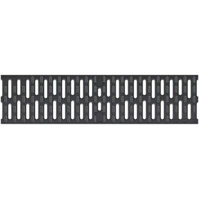 ACO Xtradrain V100 B125 Microgrip műanyag bordás rács, 0,5 fm