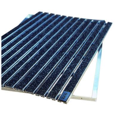 Aco SELF Indoor antracit lábtörlő alumínium kerettel, műrost betéttel 75x50cm-es
