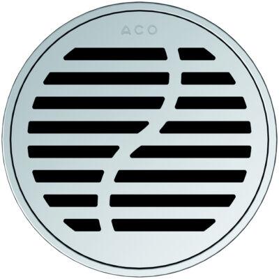 Aco EXCLUSIVE kerek hullám mintás padlóösszefolyó rács
