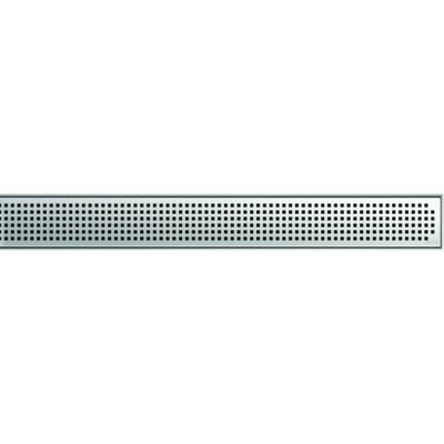 Aco EXCLUSIVE 800mm-es szita mintás zuhanyfolyóka rács