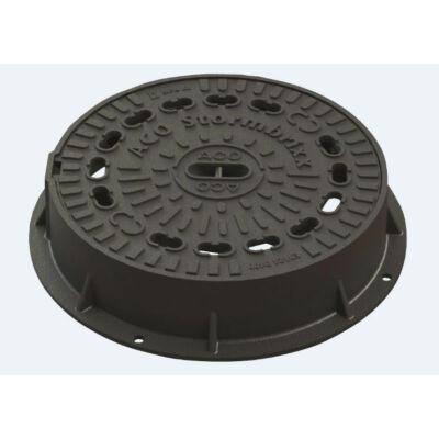 ACO Stormbrixx öntöttvas aknafedlap szellőzéssel, D400