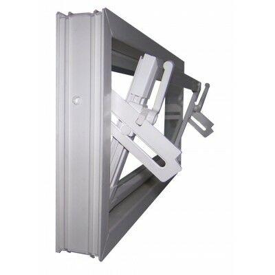Aco SELF egyszerű üvegezésű fehér bukó melléképület ablak