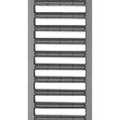 Aco SELF porszórt antracit horganyzott acél bordásrács 0,5 m