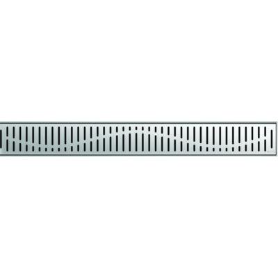Aco COMFORT 885mm-es hullám mintás zuhanyfolyóka rács
