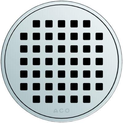 Aco EXCLUSIVE kerek szita mintás padlóösszefolyó rács