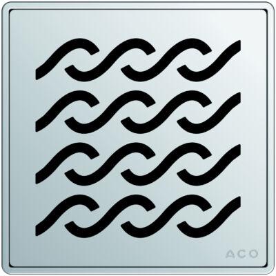 Aco EXCLUSIVE szögletes hawaii mintás padlóösszefolyó rács