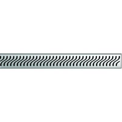 Aco EXCLUSIVE 800mm-es zászló mintás zuhanyfolyóka rács